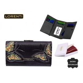 Portfel damski - LORENTI 55020-BT Black - P185