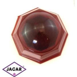 Pudełko czerwone, etui - śr. 6cm