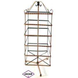 Ekspozytor, stojak metalowy - wysokość: 46cm