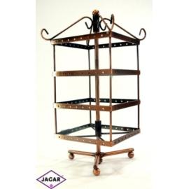Ekspozytor, stojak metalowy - wysokość: 28cm