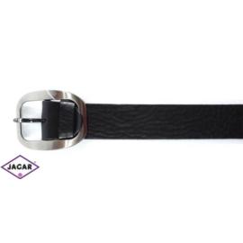 Pasek skórzany - czarny - 4/85-110 (mix wzorów)