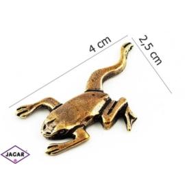 Figurka metalowa - żabka - FZ9