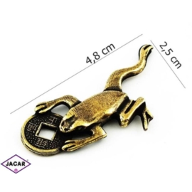 Figurka metalowa - żabka - FZ8