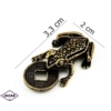 Figurka metalowa - żabka - 10szt/op FZ10