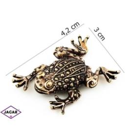 Figurka metalowa - żabka - FZ7