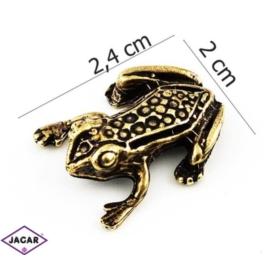 Figurka metalowa - żabka - FZ11