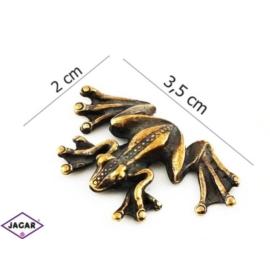 Figurka metalowa - żabka - FZ13