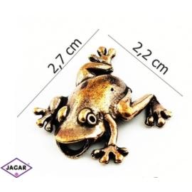 Figurka metalowa - żabka - FZ18