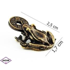 Figurka metalowa - żabka - FZ22
