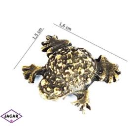 Figurka metalowa - żabka - FZ23