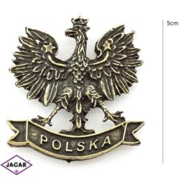 Magnes metalowy - orzełek Polska - 3szt/op MM5