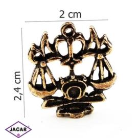 Figurka metalowa - zodiak Waga ZM5
