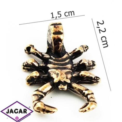Figurka metalowa - zodiak Skorpion 10szt/op ZM11