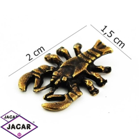 Figurka metalowa - zodiak Rak 10szt/op ZM12