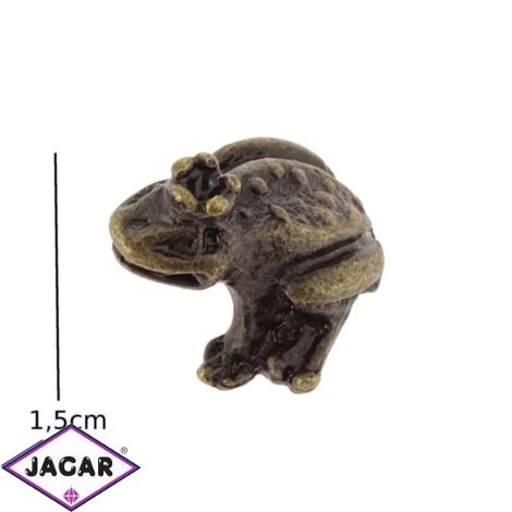 Figurka metalowa - żabka - 10szt/op FZ27