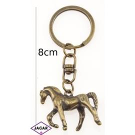 Brelok metalowy - koń - BM21
