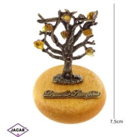 Figurka metalowa - Drzewko Szczęścia FR115