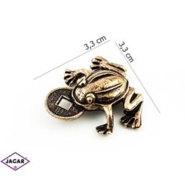 Figurka metalowa - żabka - FZ1