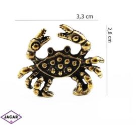 Figurka metalowa - zodiak Rak 10szt/op ZD3