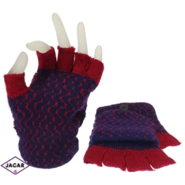 Rękawiczki dziecięce- granatowe- długość 21cm RK10
