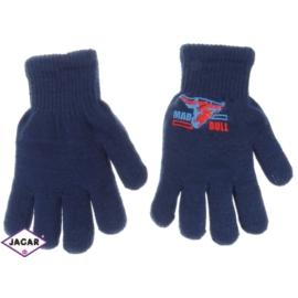 Rękawiczki chłopięce-niebieskie- długość 18cm RK74