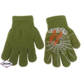 Rękawiczki chłopięce - zielone - długość 13cm RK76