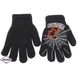 Rękawiczki chłopięce-grafitowe - długość 13cm RK79
