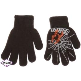 Rękawiczki chłopięce - brązowe - długość 13cm RK81