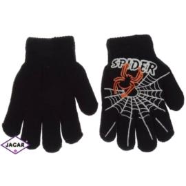 Rękawiczki chłopięce - czarne - długość 13cm RK82