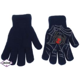 Rękawiczki chłopięce- granatowe- długość 15cm RK84
