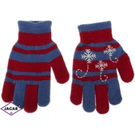 Rękawiczki dziecięce- czerwone- długość 16cm RK101