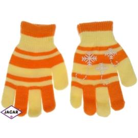 Rękawiczki dziecięce - żółte - długość 16cm RK106