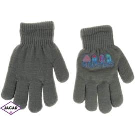 Rękawiczki chłopięce - szare - długość 16cm RK107