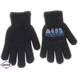 Rękawiczki chłopięce-grafitowe- długość 16cm RK108