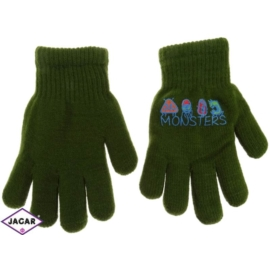 Rękawiczki chłopięce- zielone - długość 16cm RK111