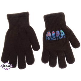 Rękawiczki chłopięce- brązowe - długość 16cm RK112