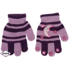 Rękawiczki dziecięce- fioletowe-długość 14cm RK114