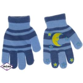 Rękawiczki dziecięce-niebieskie-długość 14cm RK117