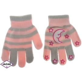 Rękawiczki dziecięce - szare - długość 14cm RK120