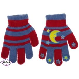 Rękawiczki dziecięce- czerwone- długość 14cm RK123