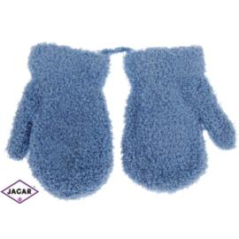 Rękawiczki dziecięce-niebieskie-długość 10cm RK162