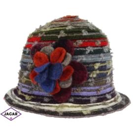 Kapelusz - kolorowy - S588W