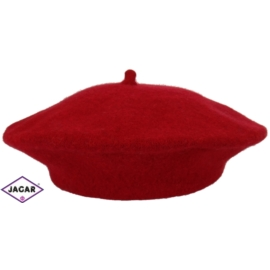 Beret damski - bordo 617 - RB11
