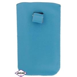 Etui na telefon - błękitne - 17cm x 10cm ET5