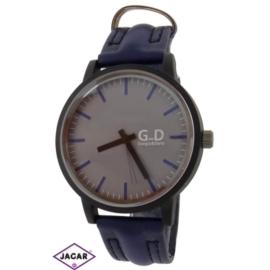 Zegarek męski - granatowy - szer:5cm Z62