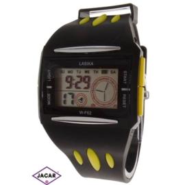 Zegarek męski elektroniczny - czarno-żółty Z69