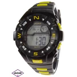 Zegarek męski elektroniczny - czarno-żółty Z72