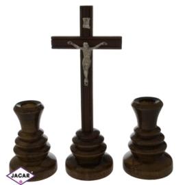 Komplet kolędowy - drewniany JC11