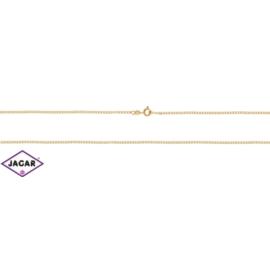 Łańcuszek pozłacany Xuping - pancerka - 60cm LAP98