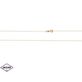 Łańcuszek pozłacany Xuping - kulkowy - 50cm LAP100